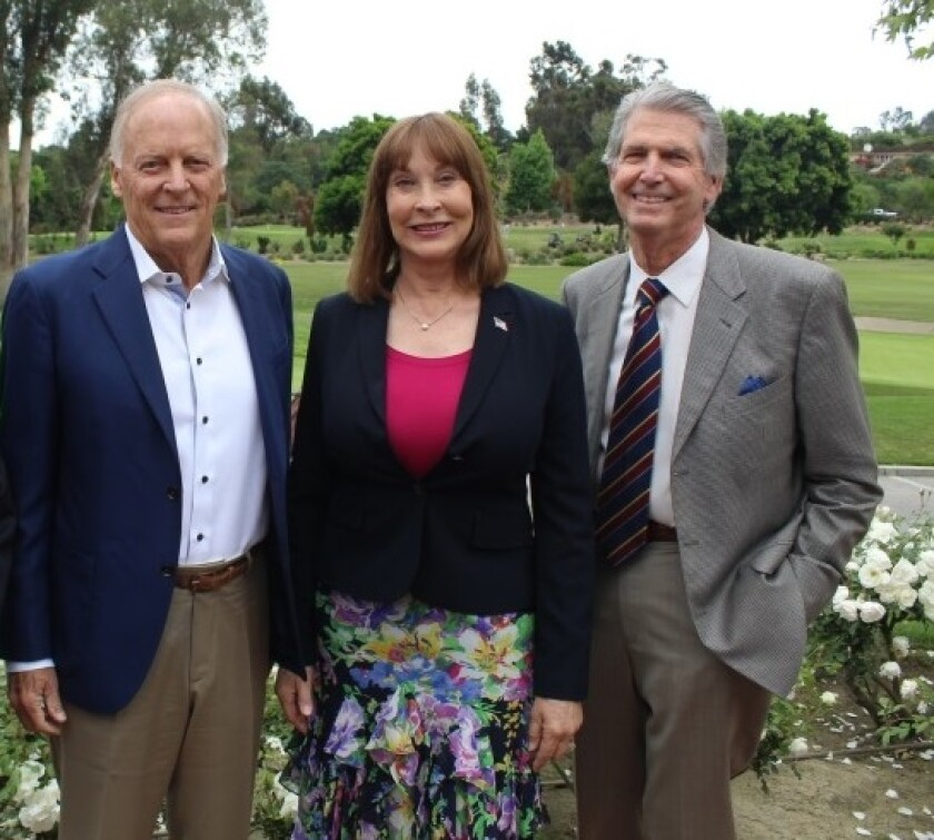 New RSF Association board members Bill Strong, Laurel Lemarie and Bill Weber