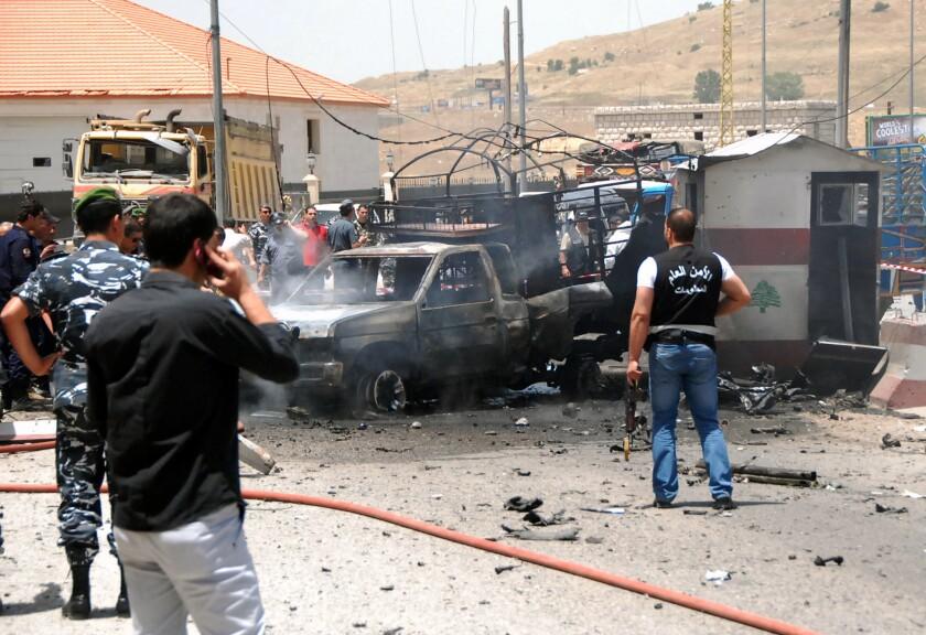 Suicide car bomb