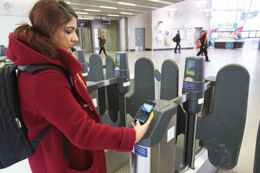 Cubic Corp's transportation arm is licensing technology that would bring tap-and-pay contactless cards to mass transit customers.