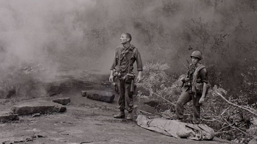 Long Khanh Province, Republic of Vietnam....SP4 R. Richter, 4th Battalion, 503rd Infantry, 173rd Air