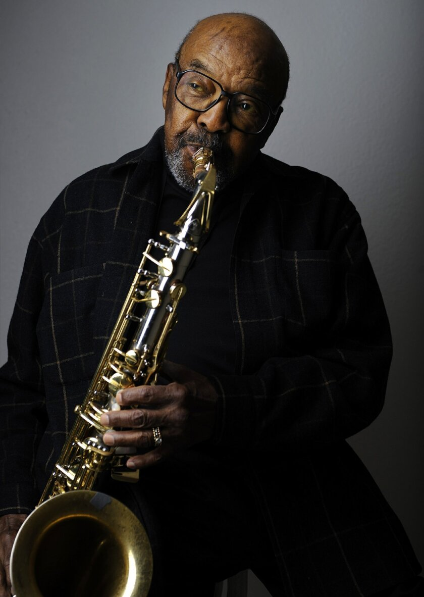 Feb. 26, 2010,-San Diego CA,- Jazz sax legend James Moody will turn 85 this month, shown here at his San Diego home on Feb. 26, 2010.    Mandatory Photo Credit:K.C. ALFRED/Union-Tribune/ZUMA press