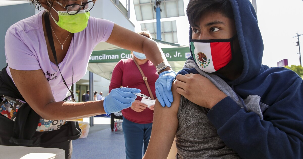 With Delta variant on the rise in L.A. County, vaccinations urged - Los Angeles Times