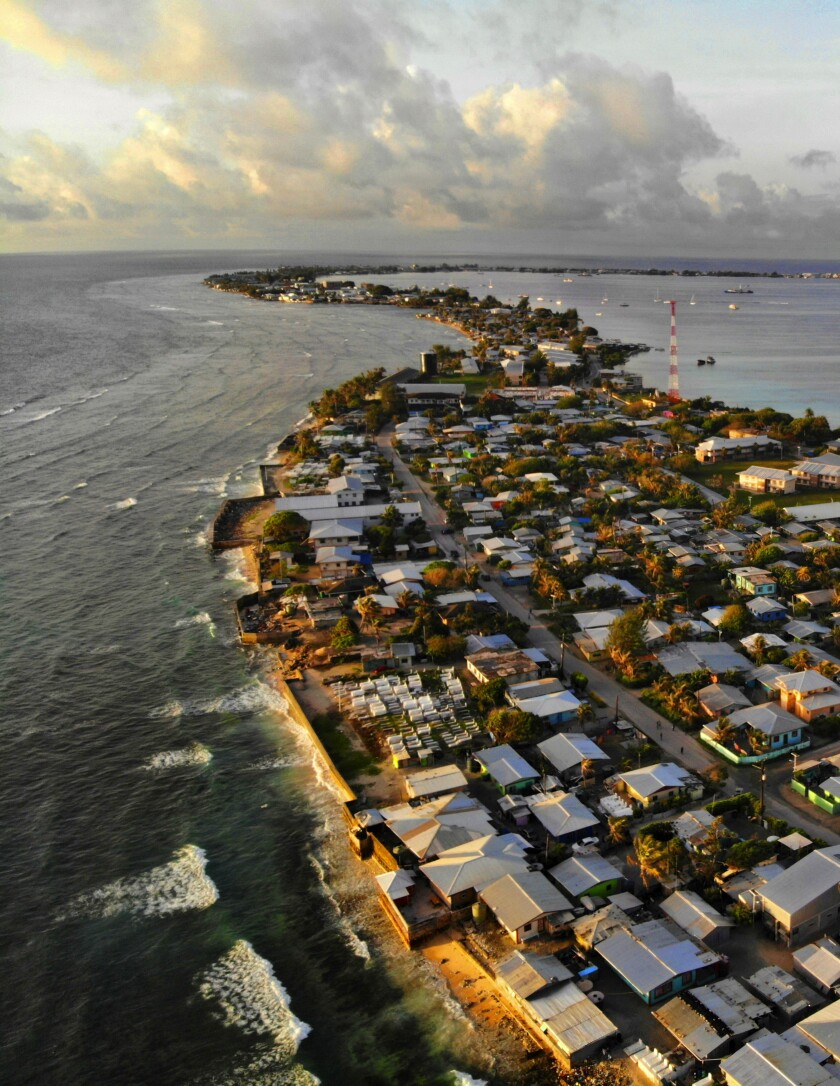 Huge waves and disease turn Marshall Islands into 'a war zone,' health official says