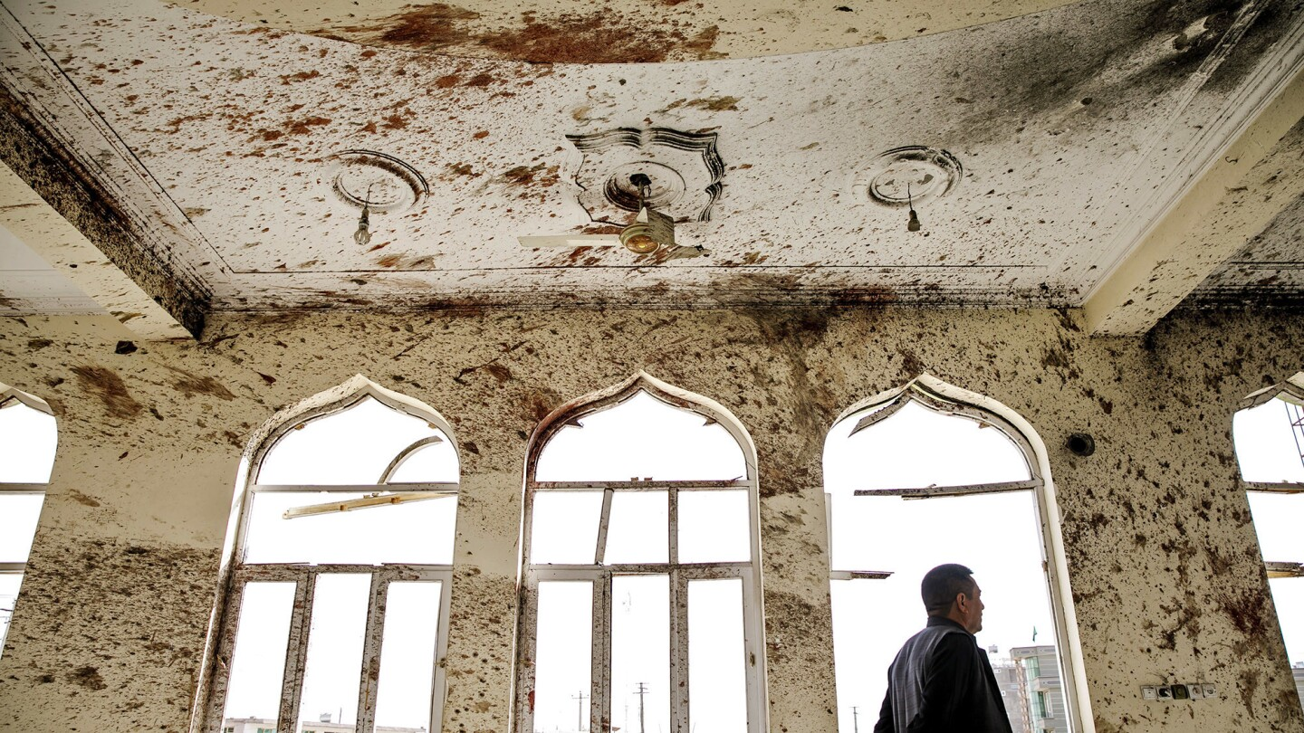 Suicide bombing at Kabul mosque