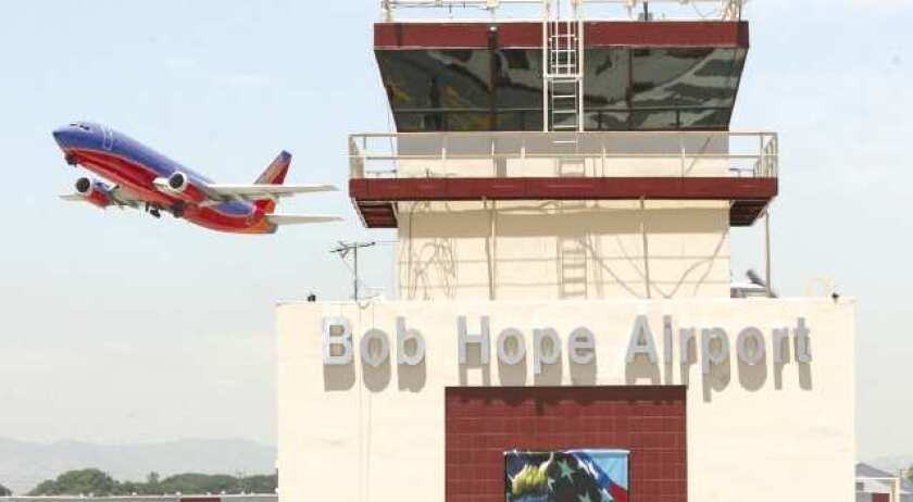 Wife of Lancaster mayor cited for loaded firearm in carry-on bag at Bob Hope Airport