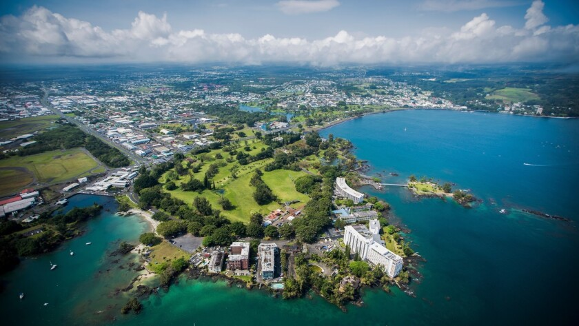 Grand Naniloa in Hilo will be the first branded hotel (DoubleTree by Hilton) on the island's eastern side.