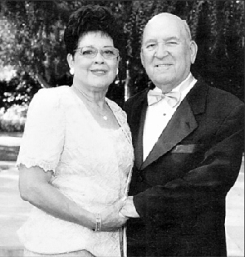 Alicia and Joseph Ortega were born and married in Torreon, Mexico, according to El Siglo de Torreon, a local newspaper. This photo, published in that paper, shows the couple celebrating their 50th wedding anniversary. They are believed to be among the dead in the Christmas Eve attack at their home in Covina. More photos >>>