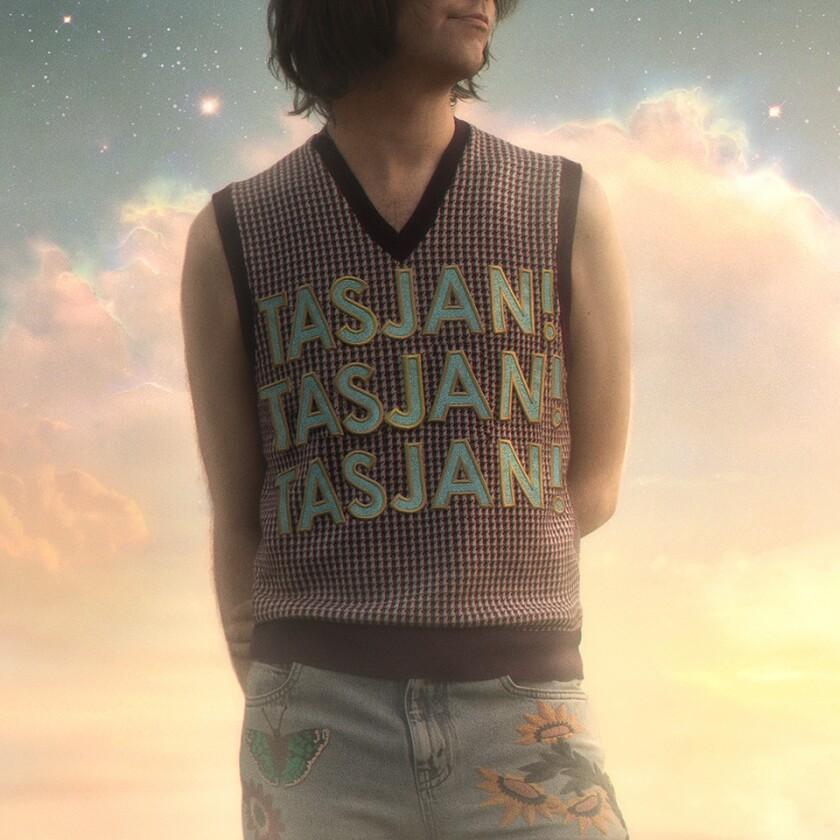 "This cover image released by New West Records shows ""Tasjan! Tasjan! Tasjan!"" a release by Aaron Lee Tasjan. (New West Records via AP)"