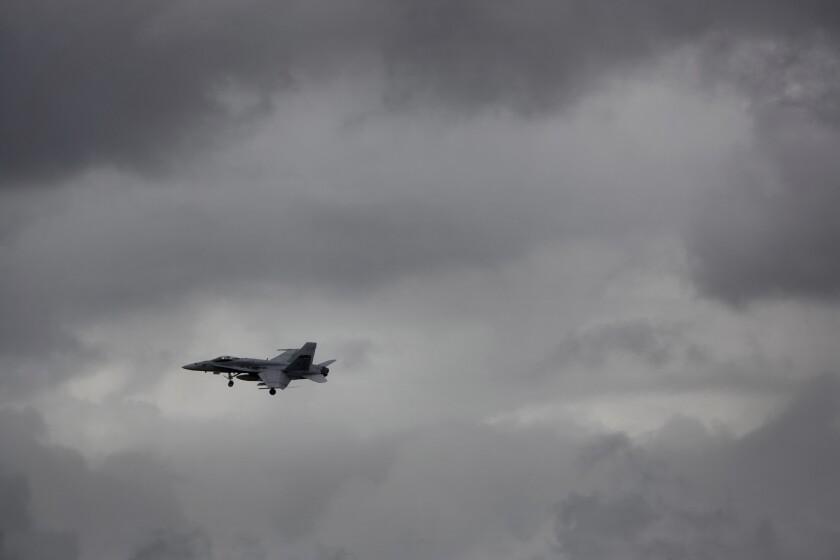 An F/A-18 Hornet