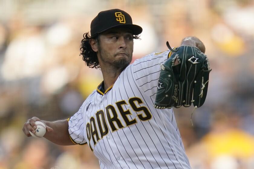 Yu Darvish will start Wednesday's game in Arizona for the Padres.