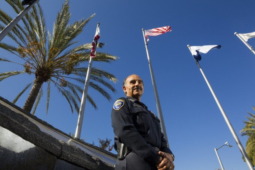 Chula Vista Police Chief David Bejarano retires this month after 35 years of service.
