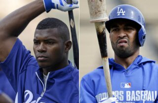 Yasiel Puig benched for arriving late; Matt Kemp in