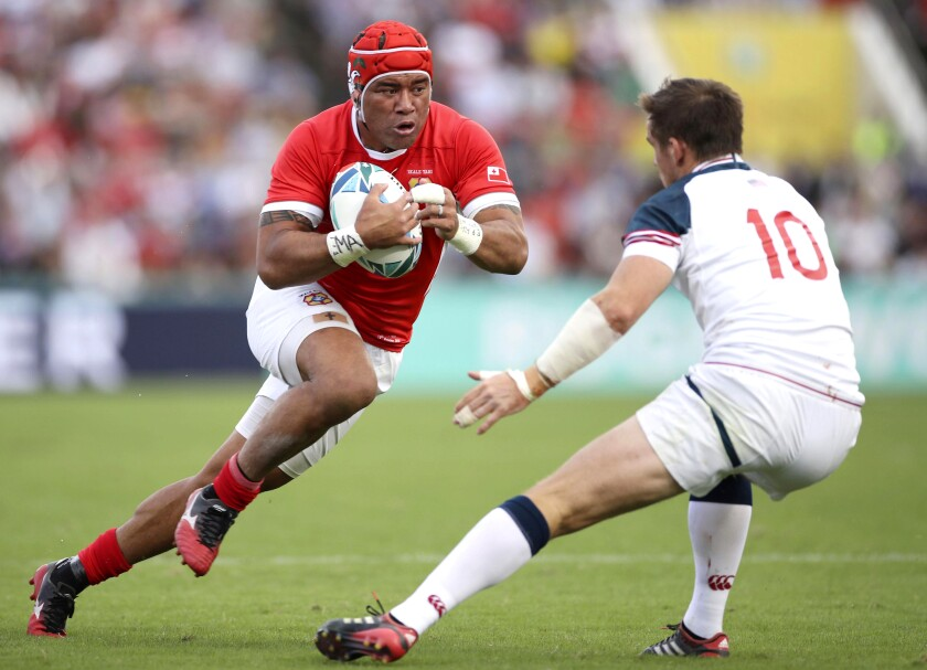 Japan Rugby WCup USA Tonga