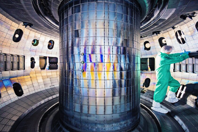 The DIII-D National Fusion Facility operated by General Atomics for the U.S. Department of Energy, is a world-class laboratory aimed at finding ways to make nuclear fusion work on a practical level as a future source of energy.