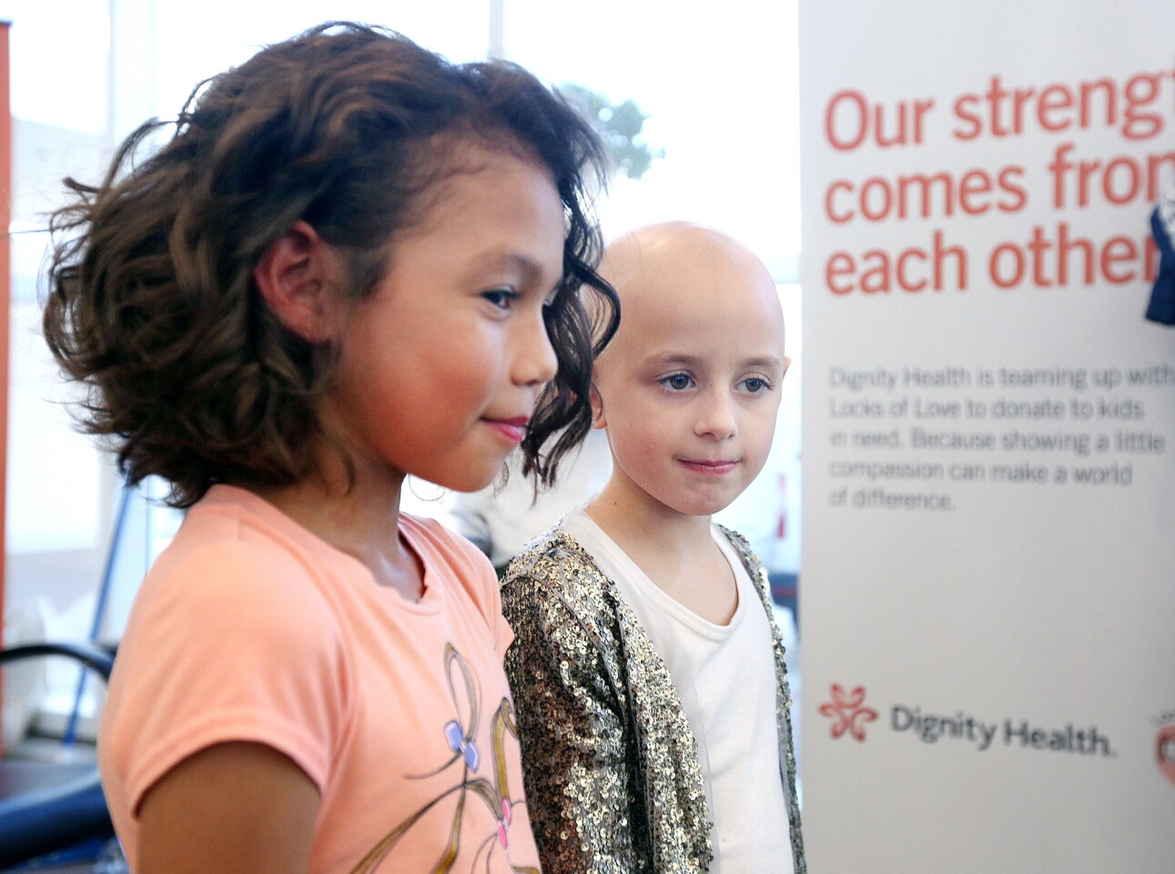 Photo Gallery: Locks of Love event at Dignity Health - Glendale Memorial Hospital