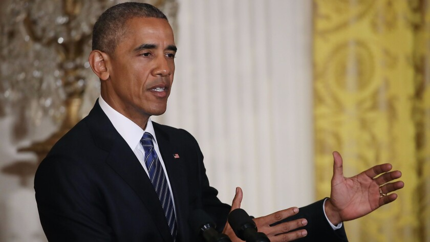 President Obama commuted the sentences of 214 federal inmates Wednesday, almost all of which were serving time for nonviolent drug offenses.