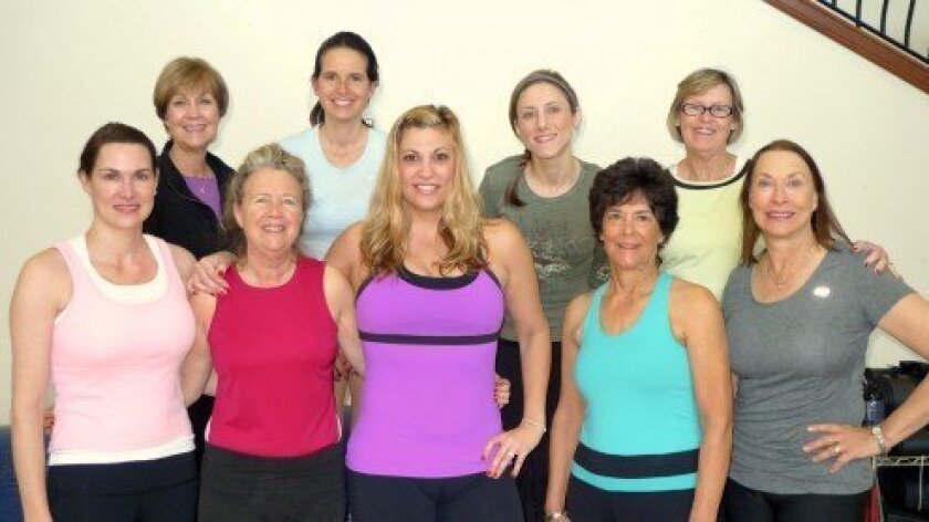 Led by Krista Bonano, Jazzercise classes meet Mondays, Wednesdays and Fridays, from 9 to 10 a.m., at the RSF Community Center.