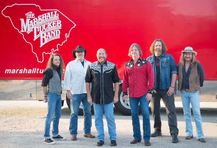 The Marshall Tucker Band will perform at the Belly Up July 26 and July 27.