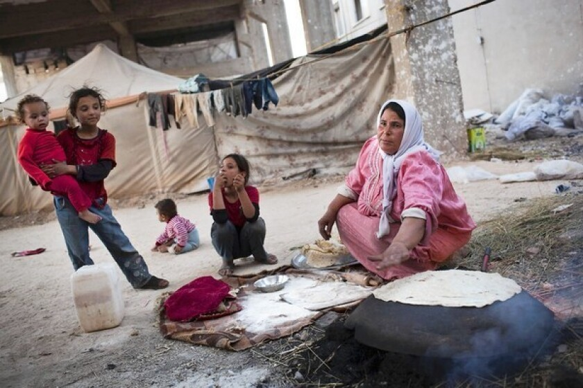 In Syria, a new order for daily bread