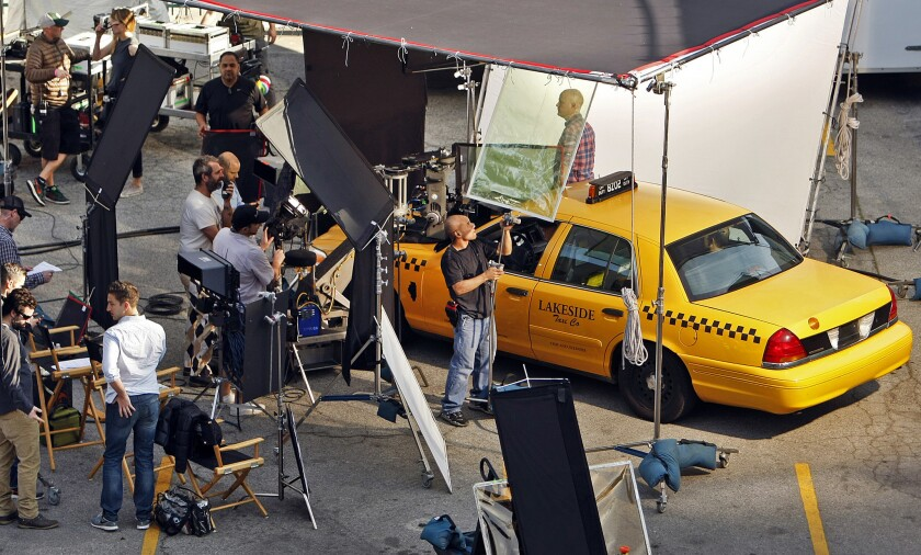 Production shoot