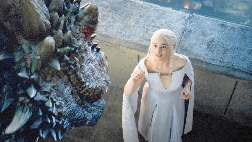 Daenerys Targaryen (Emilia Clarke) in Season 5 of 'Game of Thrones'