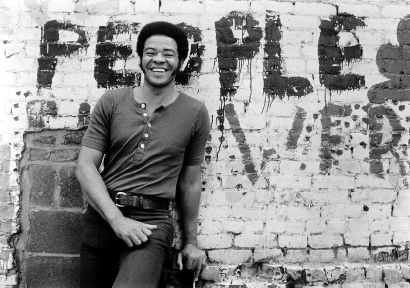 "Bill Withers wrote and sang a string of soulful songs in the 1970s that have stood the test of time, including ""Lean on Me"", ""Lovely Day"" and ""Ain't No Sunshine"". — Photograph: Gilles Petard/Redferns."