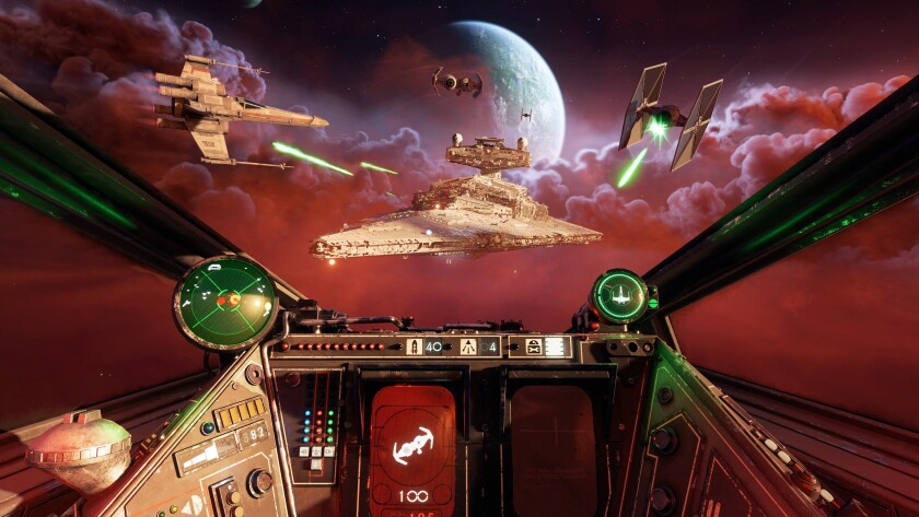 """""""Star Wars: Squadrons"""" recalls vintage LucasArts games but has a modern """"wow"""" factor."""