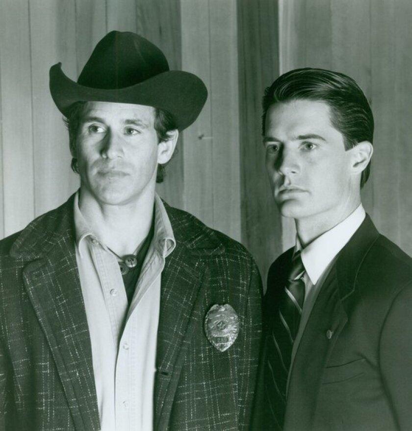"""Twin Peaks"" stars Michael Ontkean, left, and Kyle MacLachlan."