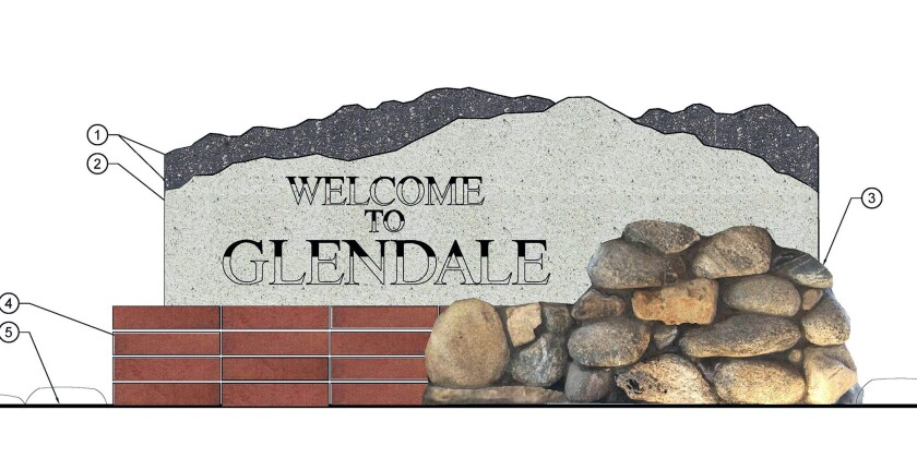 Winning welcome sign design