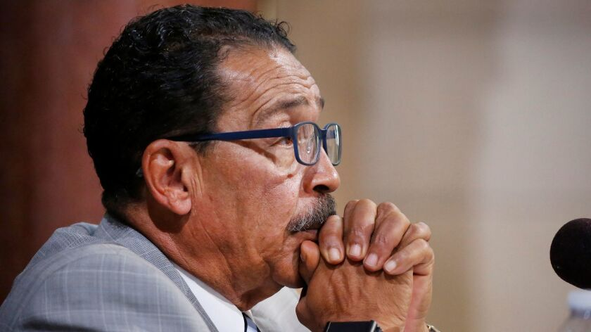 Both motions introduced by City Council President Herb Wesson regarding the LAPD's disciplinary system passed Tuesday. One created a ballot measure that, if approved by voters, could add more civilians to disciplinary boards. The second launched a deeper look at the process.
