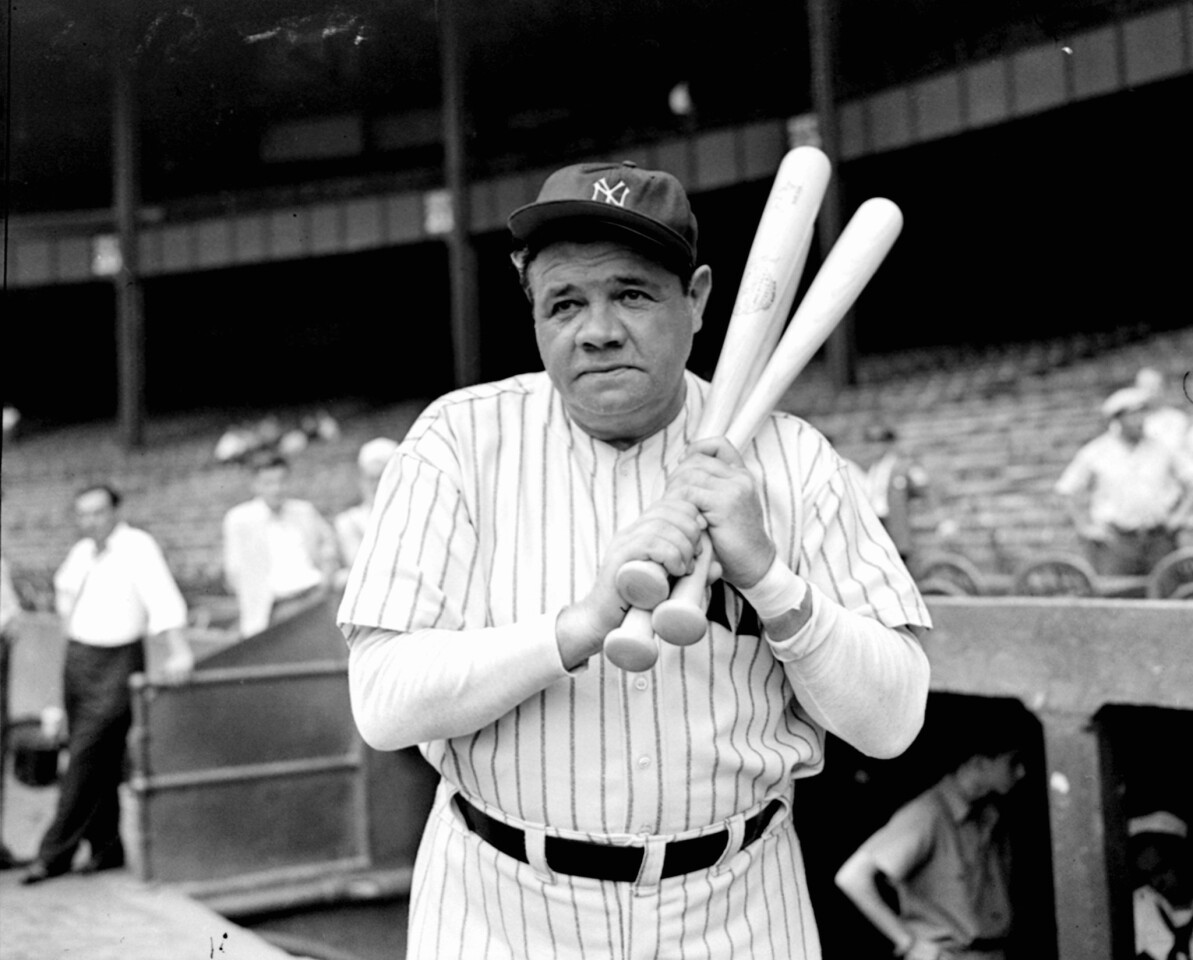 """On July 11, 1914, George Herman """"Babe"""" Ruth Jr. made his major league debut with the Boston Red Sox. Ruth's baseball career -- spanning 21 years and including 714 home runs -- remains relevant in the American consciousness a century later."""