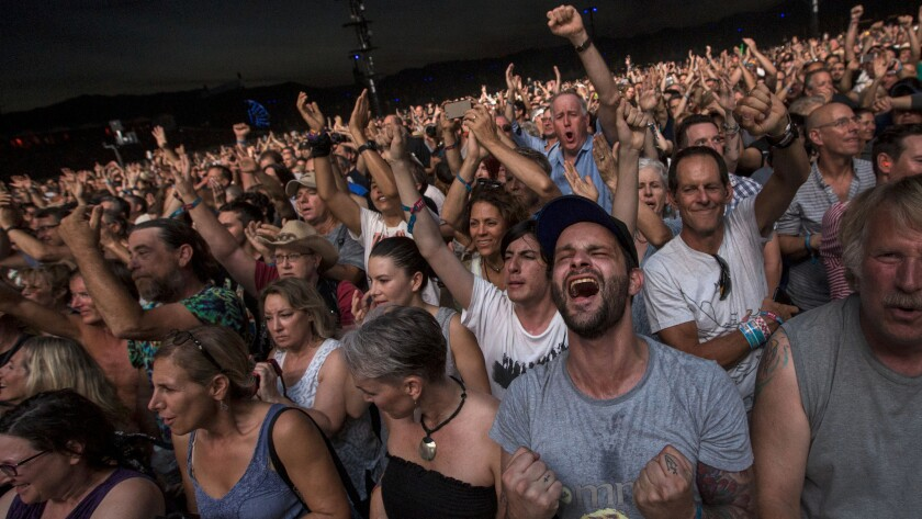 Classic rock fans maintained their enthusiasm well into the final day of rock 'n' roll at Desert Trip, where Roger Waters and the Who gave the crowd plenty to cheer for.