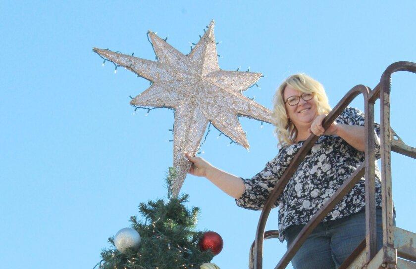 Christmas Tree Back.Christmas Tree Back On Main Ramona Sentinel