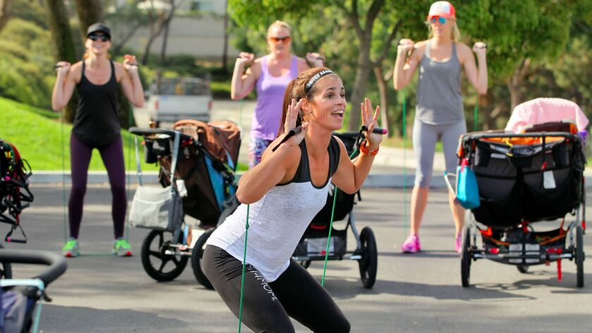 Famous for its Stroller Strides program, San Diego's Fit4Mom now striving for tech prowess.