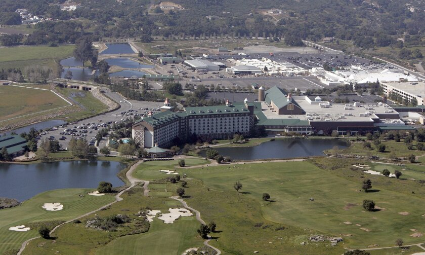 Site of SANDAG retreat, the Barona resort and casino. [U-T file]