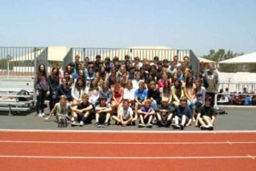 The 2012 R. Roger Rowe graduating class.
