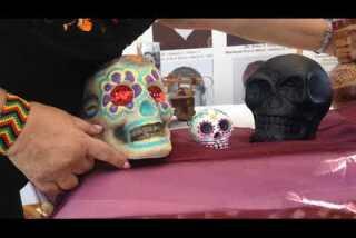 Day of the Dead memorial in San Pedro
