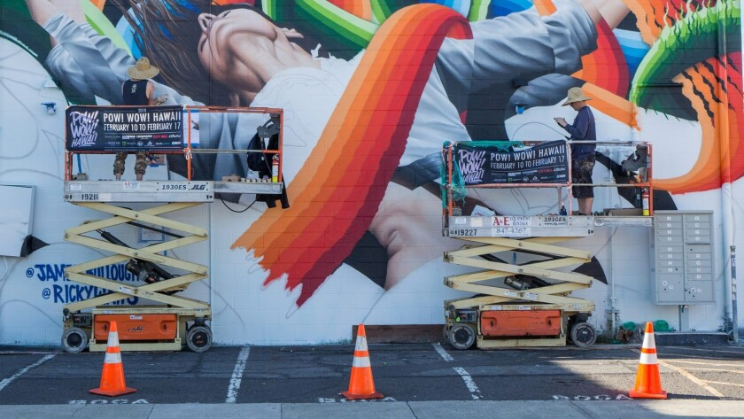 Oahu's Pow! Wow! fest elevates and celebrates street murals as the art they are