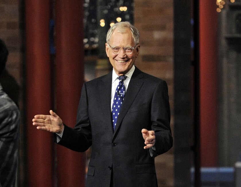 After 33 years in late-night television, 6,028 broadcasts, nearly 20,000 total guest appearances, 16 Emmy awards and more than 4,600 career Top Ten Lists, David Letterman tapes his final show in the Ed Sullivan Theater.