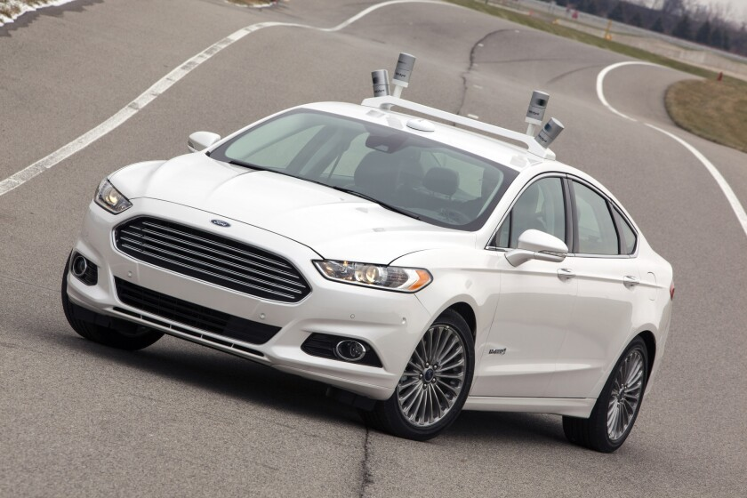 Ford announces new self-driving Fusion Hybrid test project