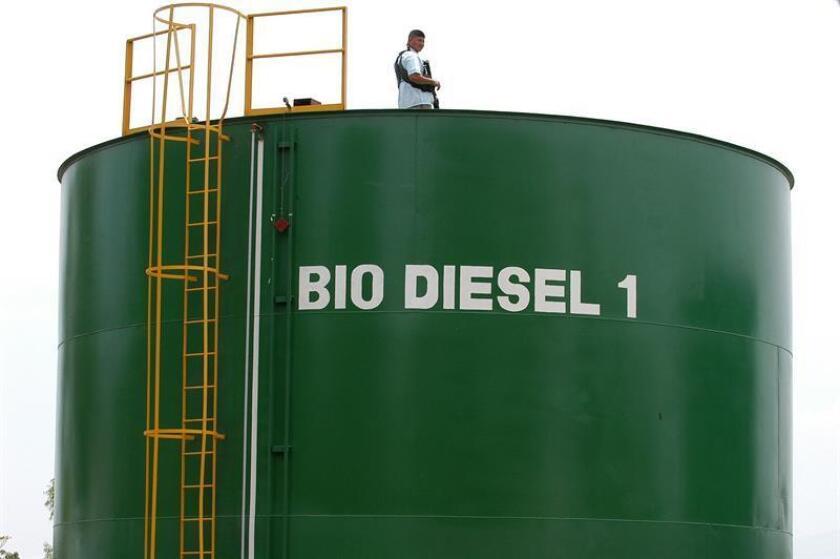 """El Gobierno de Estados Unidos anunció hoy su """"determinación final"""" de imponer aranceles por competencia desleal a la importación de biodiésel de Argentina e Indonesia. EFE/ARCHIVO"""