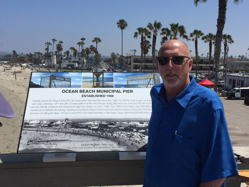 Jim Musgrove is running for one of five vacant seats on the Ocean Beach Town Council board.