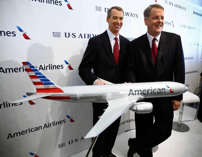 American Airlines, US Airways face big hurdles in merger