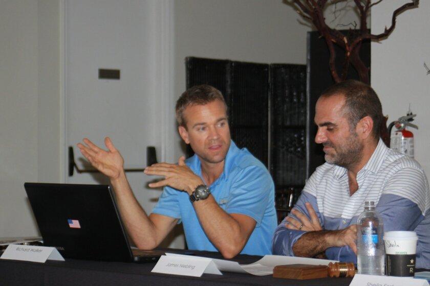 LJVMA members Richard Walker and James Niebling