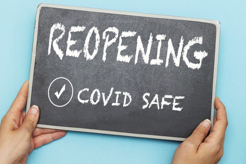reopening covid safe