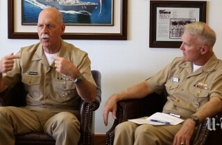 Navy brass pledge fast fixes to rash of Navy collisions