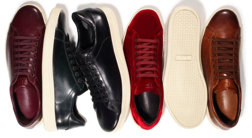 Tom Ford launches first sneaker collection