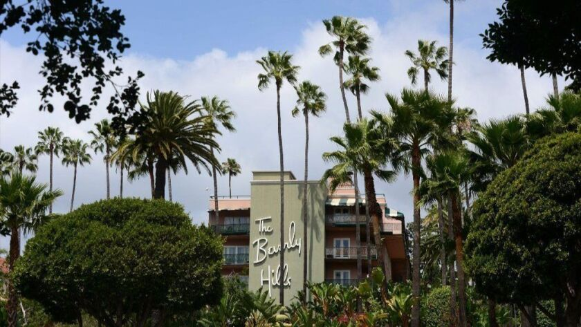 The Beverly Hills Hotel is one of several luxury properties in Southern California and Europe owned by the sultan of Brunei.