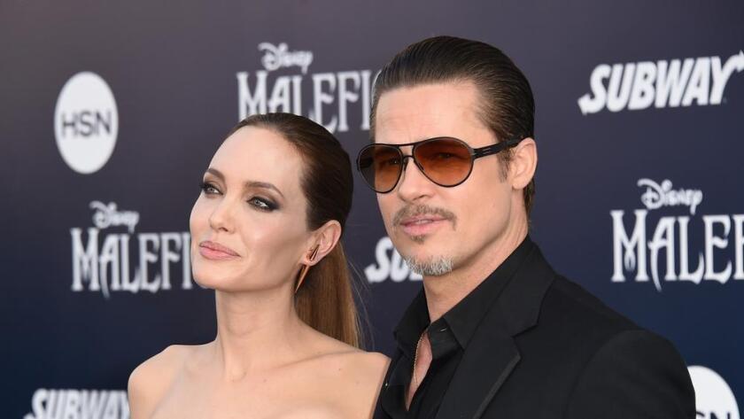 La actriz, guionista, productora y directora Angelina Jolie y su esposo, el actor Brad Pitt. Jason Merritt / Getty Images