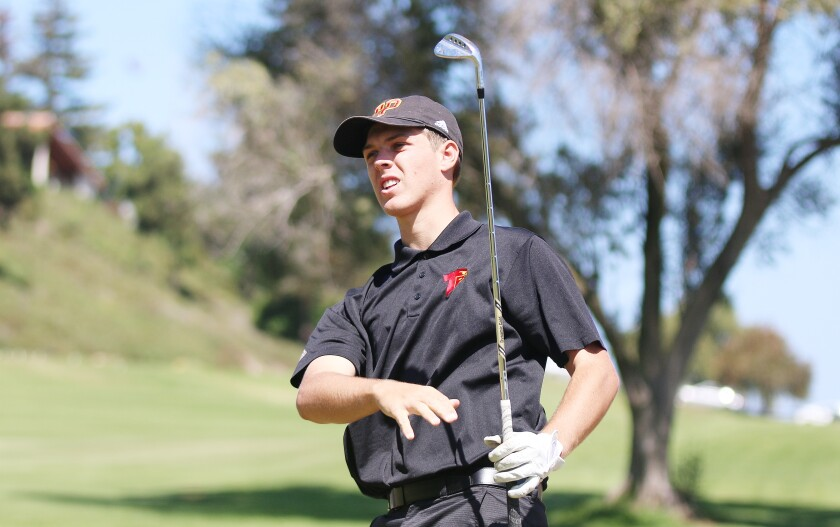 Sophomore Phillip Kench led Torrey Pines to the Division I crown.